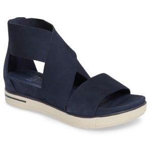 Eileen Fisher Sport Sneaker Sandal Navy Blue 9.5